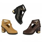 4654 mid heeled cut out chelsea boots Was £9.99 each Sale Price £7.99